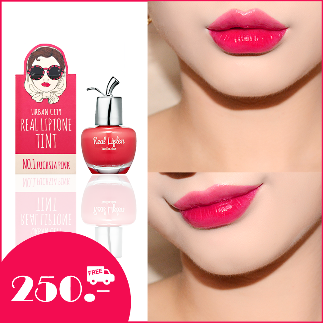 Urban City Real Liptone Tint NO.1 Fuchsia Pink