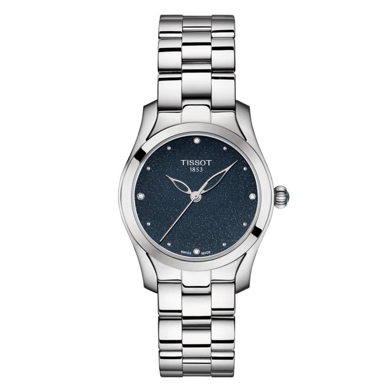 นาฬิกาผู้หญิง Tissot รุ่น T1122101104600, T-Wave Ladies Watch