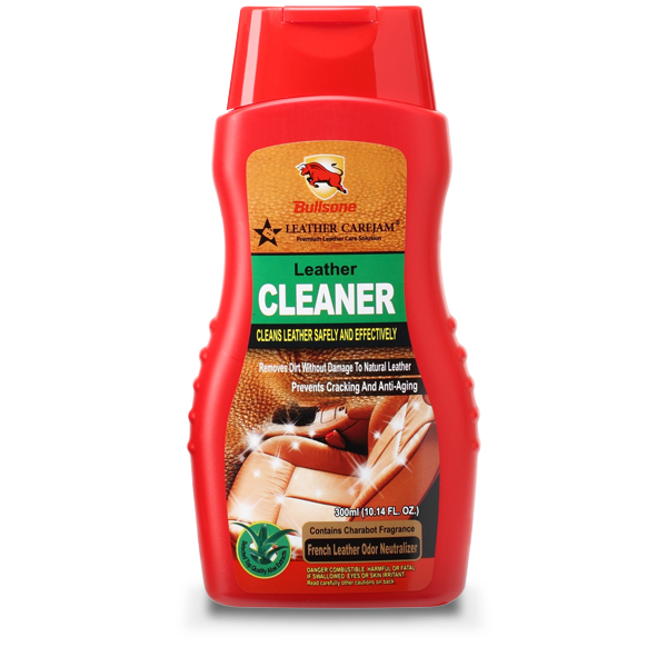 Bullson cleans leather safely and effectively ผลิตภัณฑ์ทำความสะอาดหนังอย่างปลอดภัยและมีประสิทธิภาพ