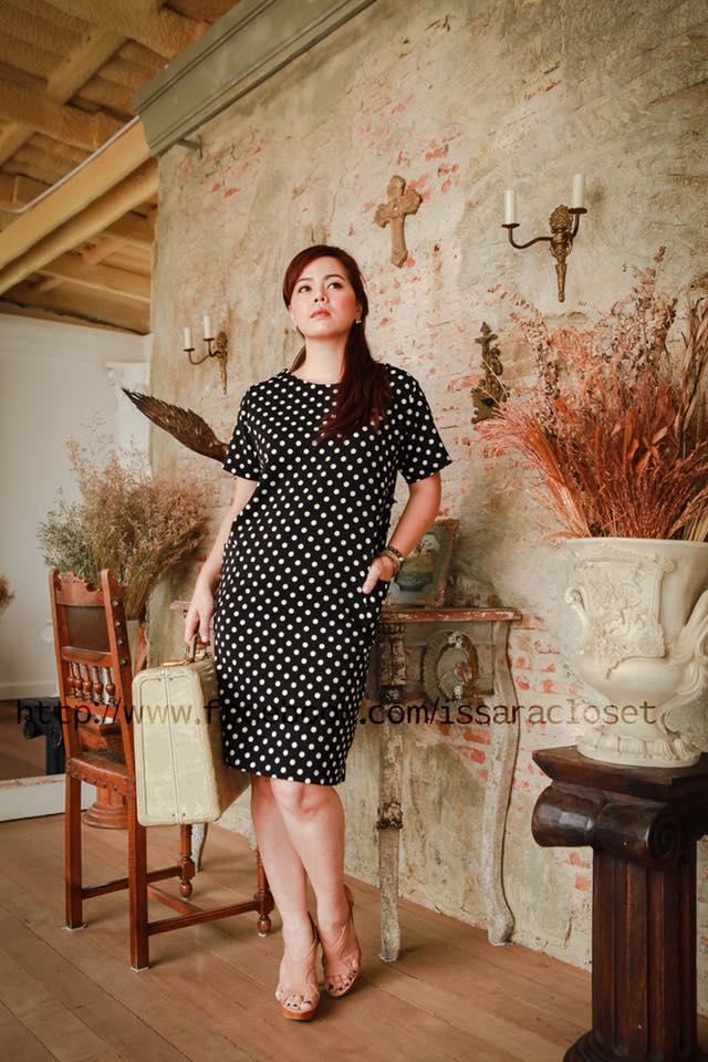 Dress Work Dot to dot ( L หมด )