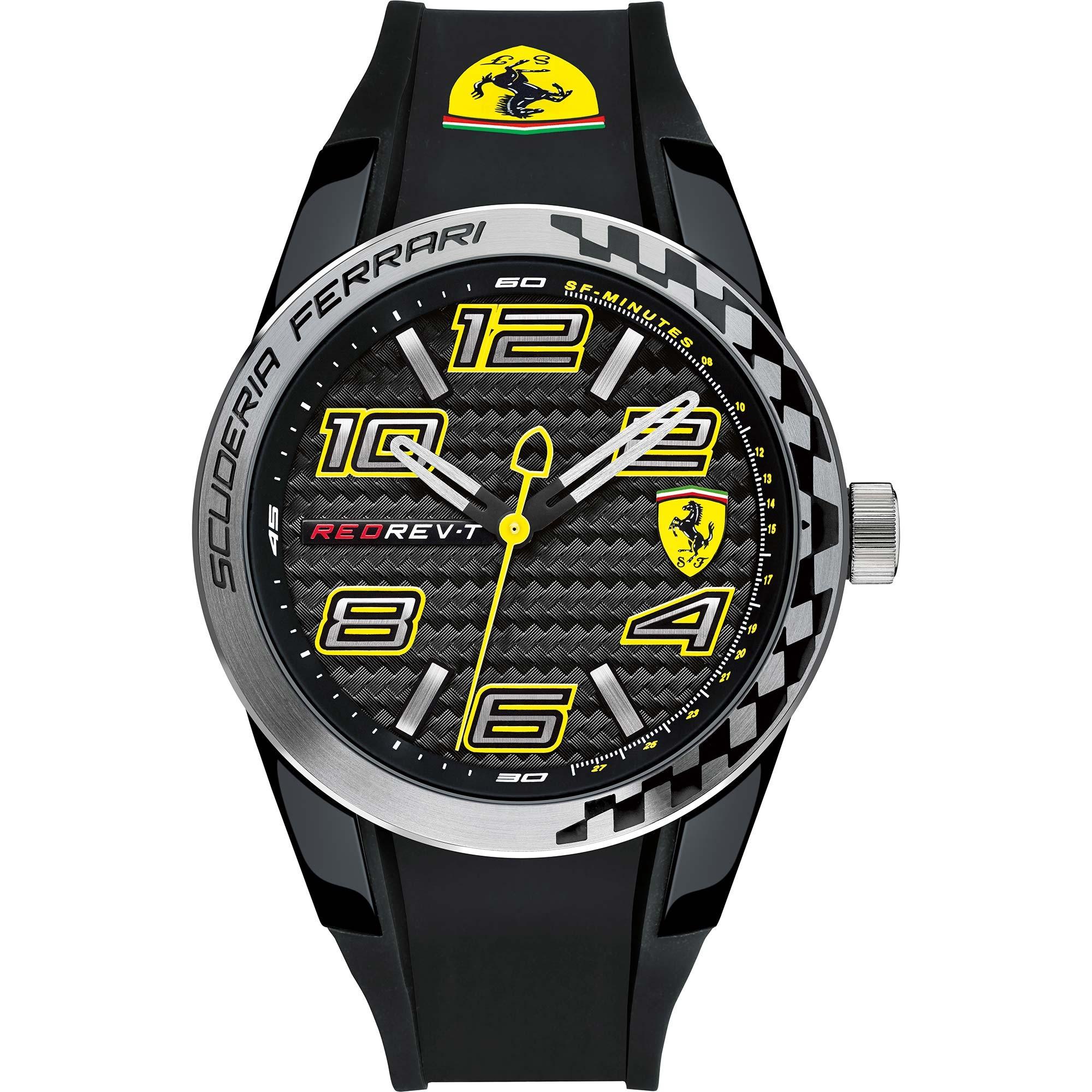 นาฬิกาผู้ชาย Ferrari รุ่น 0830223, RedRev T