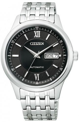 นาฬิกาข้อมือผู้ชาย Citizen รุ่น NY4051-51E, Luxury Automatic Sapphire Elegant