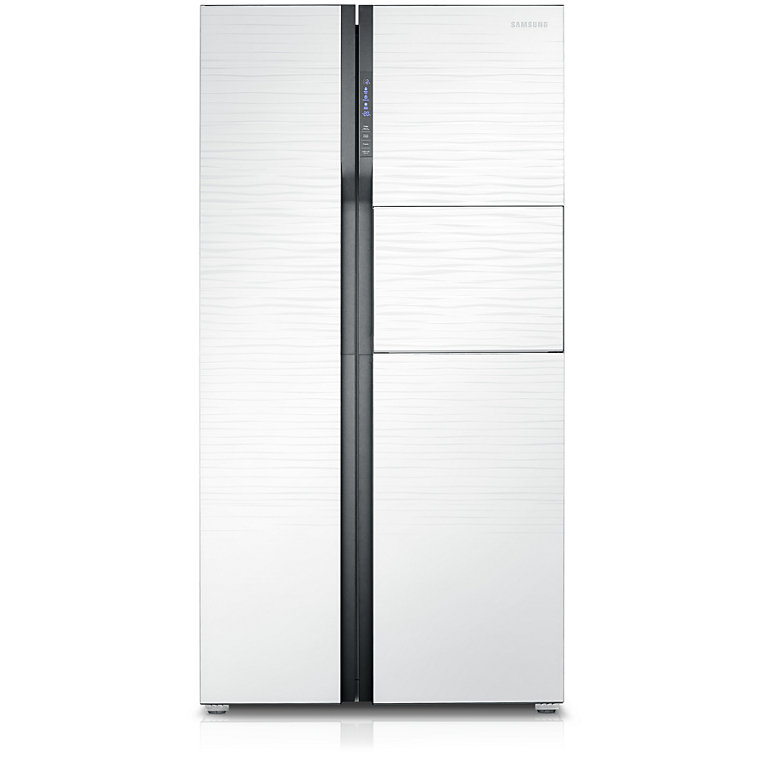 ตู้เย็น ไซด์บายไซด์ SBS 20.6 คิว Samsung RS554NRUA1J/ST