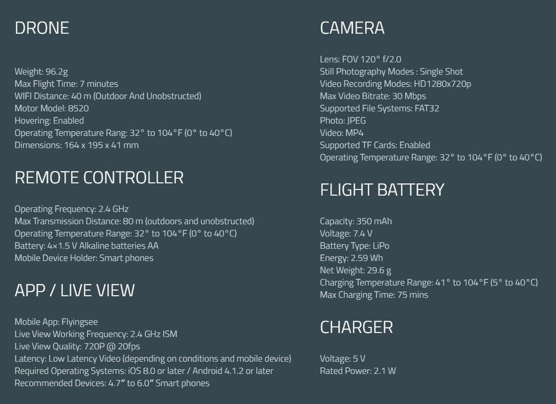 โดรนพับได้ Drone FLY29