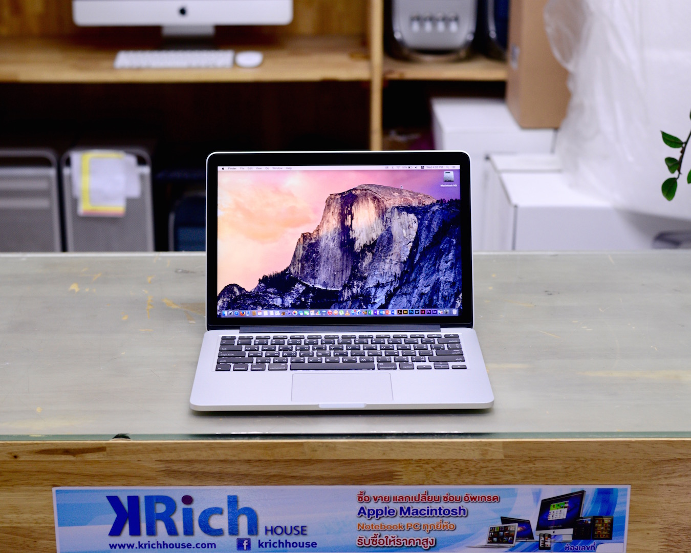 TOP Model Eeary 2015 MacBook Pro Retina 13-inch Core i5 2.9GHz RAM 8GB SSD 512 GB NEW Battery Cycle Count 0