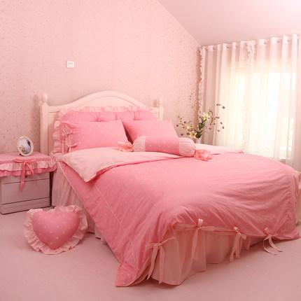 ชุดผ้าปูที่นอนเจ้าหญิง ลูกไม้ SD3015-2P