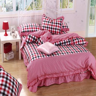 ชุดผ้าปูที่นอนเจ้าหญิง ลูกไม้ SD3031-3P