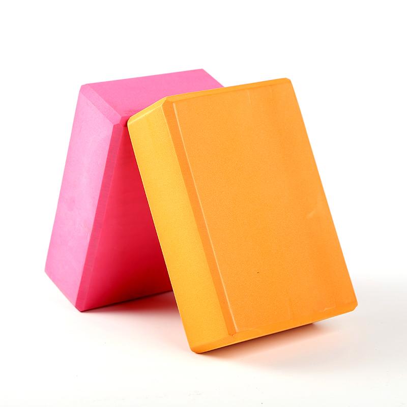 บล็อคโยคะ YK9001P (Box yoga) แพ็คคู่