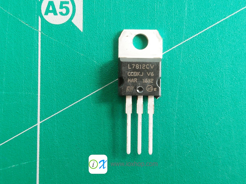 L7812 Linear Voltage Regulators 12V 1.5A