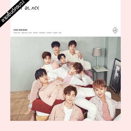 "[PRE-ORDER] {อัลบั้มไซน์ทั้งวง} UNIT BLACK - 1st Single Album ""STEAL YOUR HEART"" (A Ver.)"