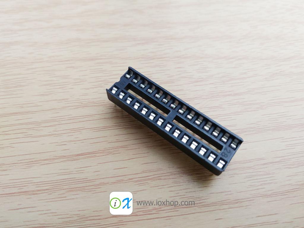ซ็อกเก็ตไอซี 28 ขา DIP28 DIP-28 IC Socket