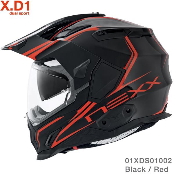 Nexx X.D1 Voyager Black-Red