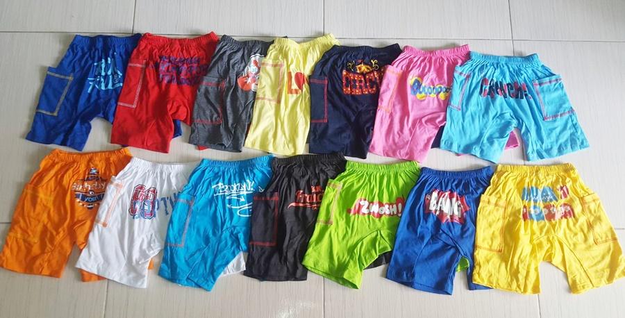 กางเกงสไตล์อเมริกัน ( แพค 5 ตัว)
