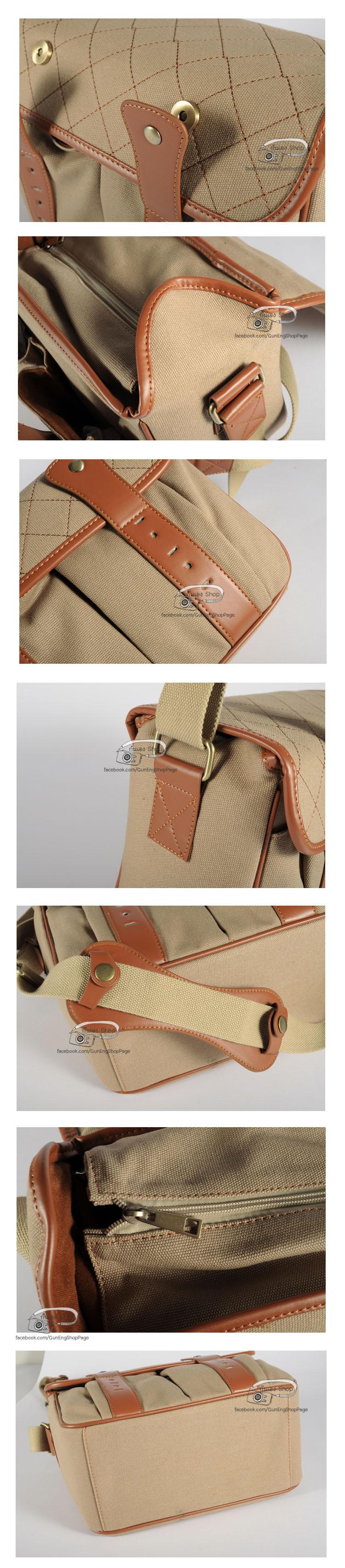 กระเป๋ากล้อง Modern Bag สีครีมข้าว