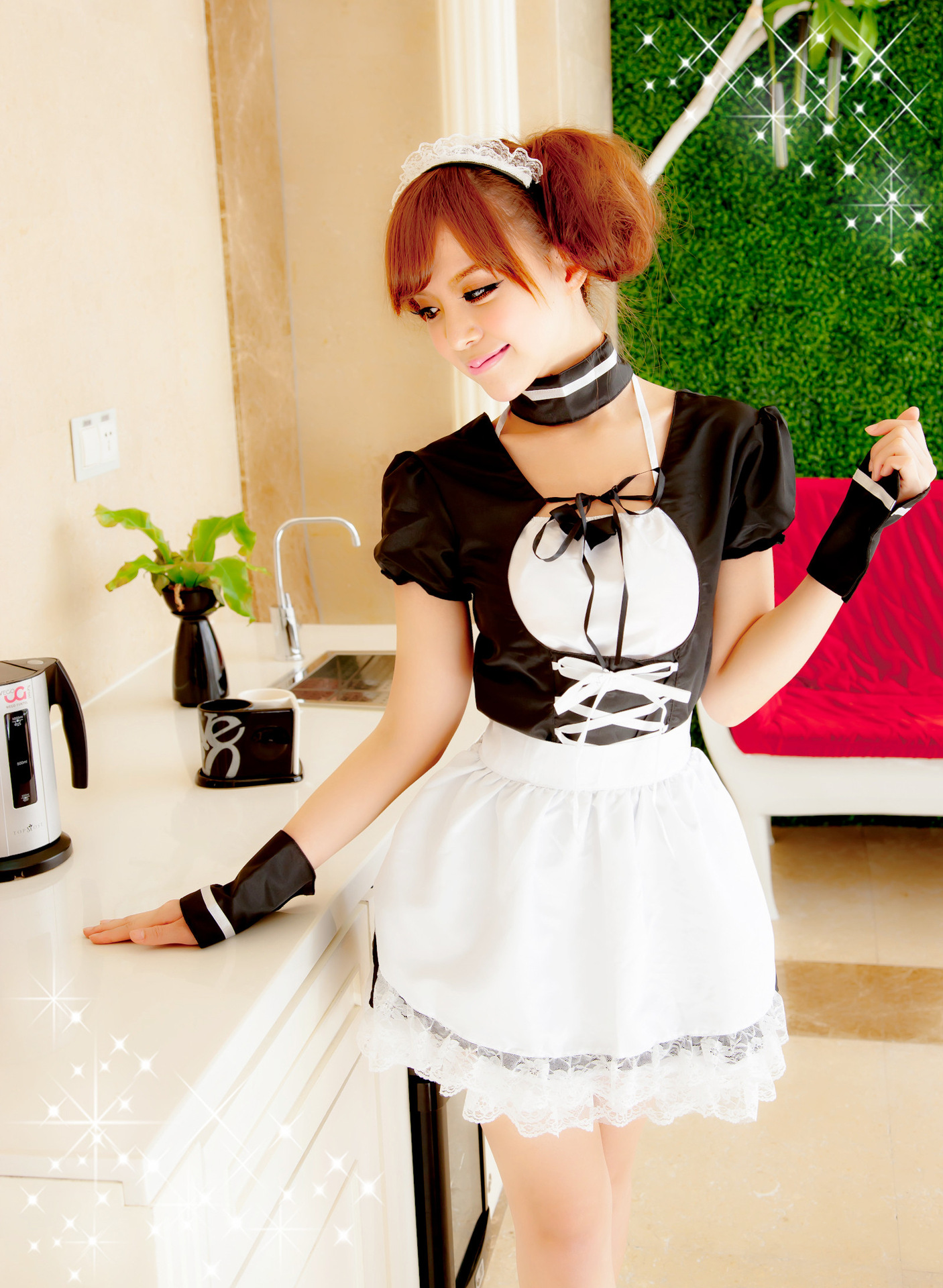 ชุดคอสเพลย์แม่บ้านญี่ปุ่น สวยน่ารัก