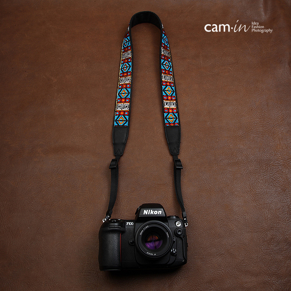 สายคล้องกล้องลายถัก cam-in Stained glassy