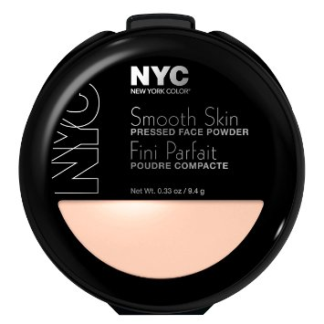 NYC New York Smooth Skin Pressed Face Powder สี 701A Translucent
