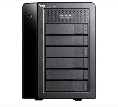 Promise Pegasus2 R6 มีความจุ HDD 12 TB และ 18TB ดูราคาด้านใน