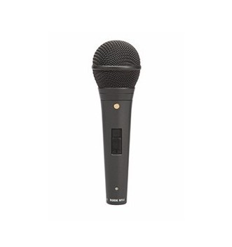 M1-S Live Performance Dynamic Microphone with Lockable Switch