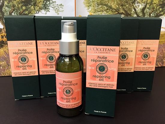 L'Occitane Aromachologie Repairing oil 100 ml. ออยล์สูตรใหม่ สำหรับบำรุงเส้นผม ใช้หลังสระผมเสร็จ ก่อนไดร์ผม *ลด 35%*