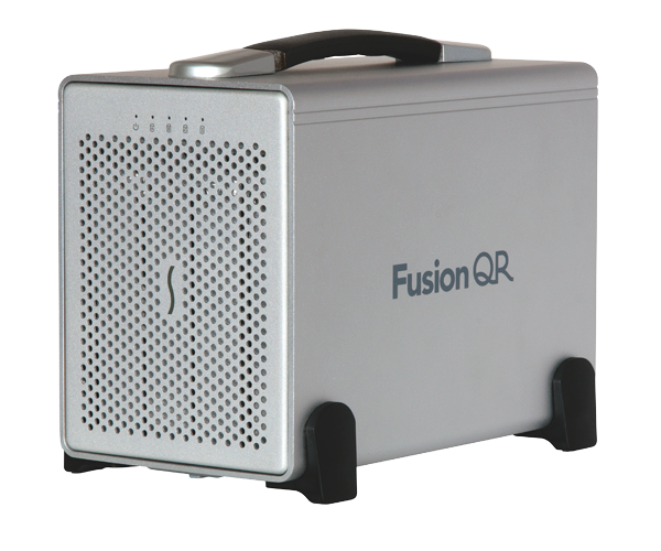 Fusion DE400QR-Quad Interface RAID5-0TB