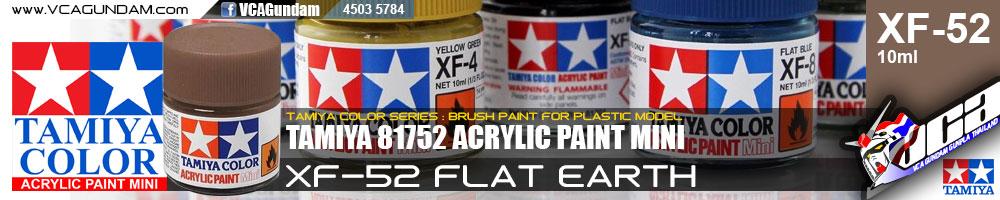 Tamiya 81752 ACRYLIC XF-52 FLAT EARTH