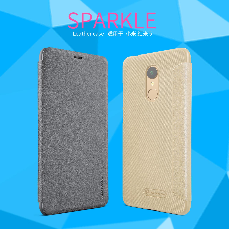 เคสฝาพับ NILLKIN Sparkle Leather Case Xiaomi Redmi 5