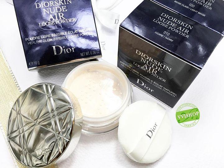 Diorskin Nude Air Healthy Glow Invisible Loose Powder # 020 : สำหรับผิวขาวกลางๆ โทนเหลือง - โทนชมพู มาพร้อมพัฟสีขาวนุ่มๆ *ลดพิเศษ 35 %
