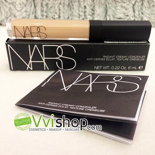 NARS Radiant Creamy Concealer # Custard Medium 1 ผิวขาวกลางๆ (ขนาดปกติ Inbox เคาน์เตอร์ไทย)