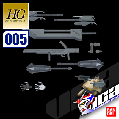 BANDAI® HGIBO 1/144 OPTION SET 5
