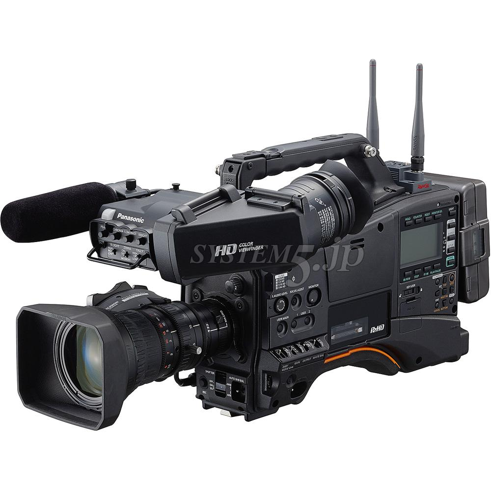 Panasonic AJ-PX380GFBundled with a FUJINON 17x Zoom Lens and AG-CVF15G Color LCD Viewfinder