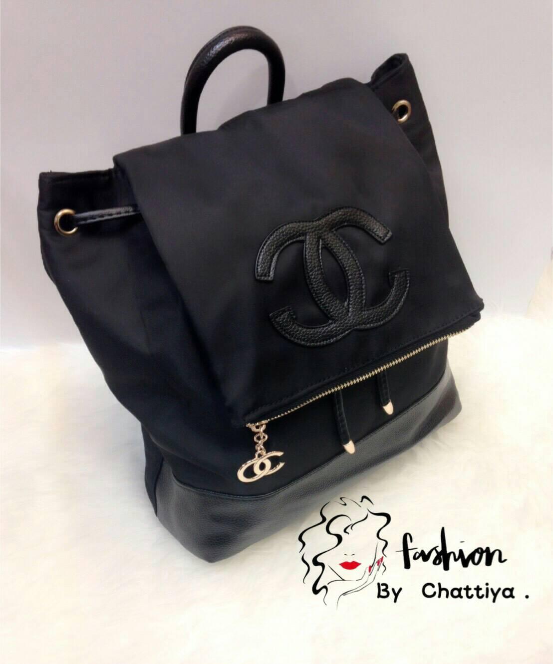 *Chanel nylon blackpack*
