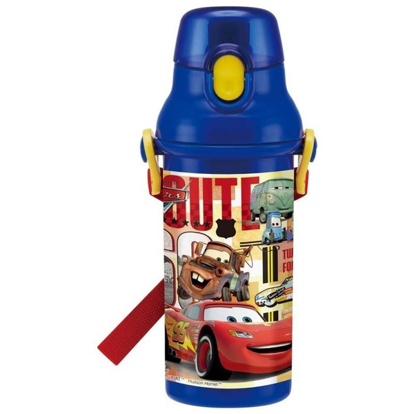 กระติกน้ำเด็กแบบยกดื่มลาย Cars [JAPAN]