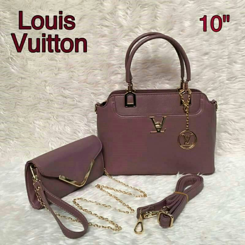 กระเป๋าแบรนด์ : lv เซต 2 ใบ ✔ เกรด : พรีเมียม