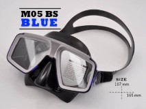 หน้ากากซิลิโคน M05BU - สีน้ำเงิน