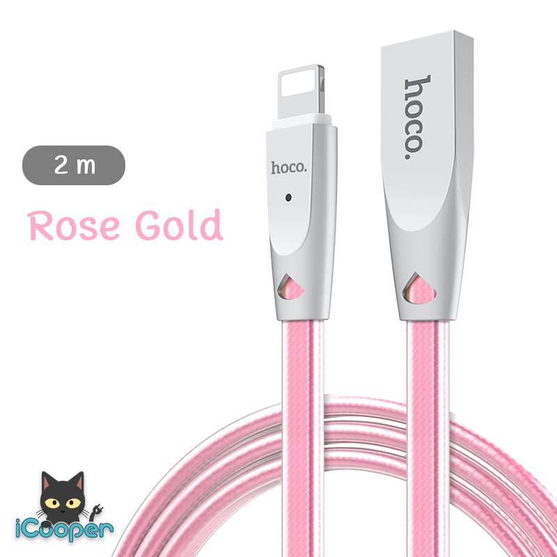 hoco U9 Data Cable 2M (Rose Gold)
