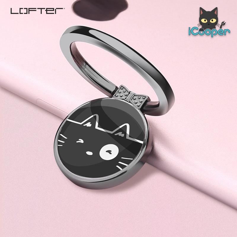 LOFTER iRing Donut (Cat Black)