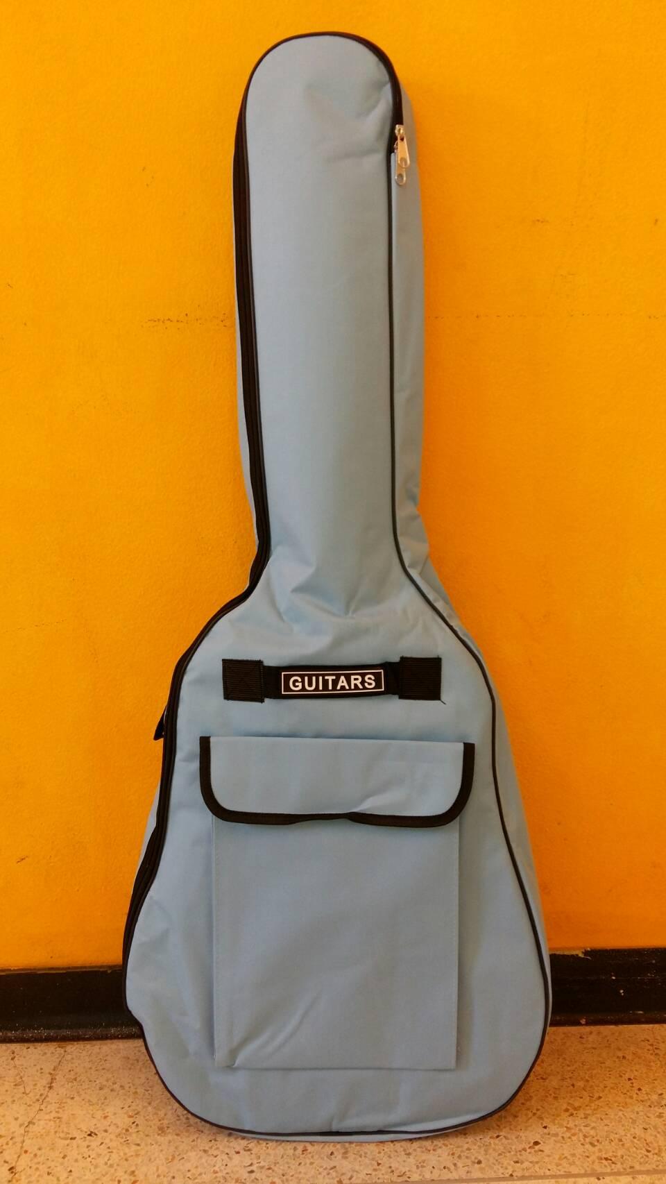 กระเป๋ากีตาร์บุฟองน้ำ สีฟ้า ขนาด 41 นิ้ว