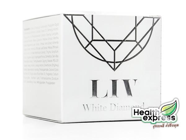 Liv White Diamond Cream ลิฟ ไวท์ ไดมอนด์ ครีม ปริมาณสุทธิ 30 g.