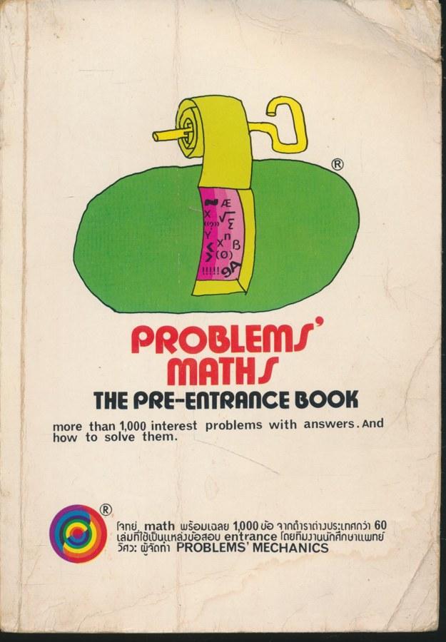 PROBLEMS MATHS