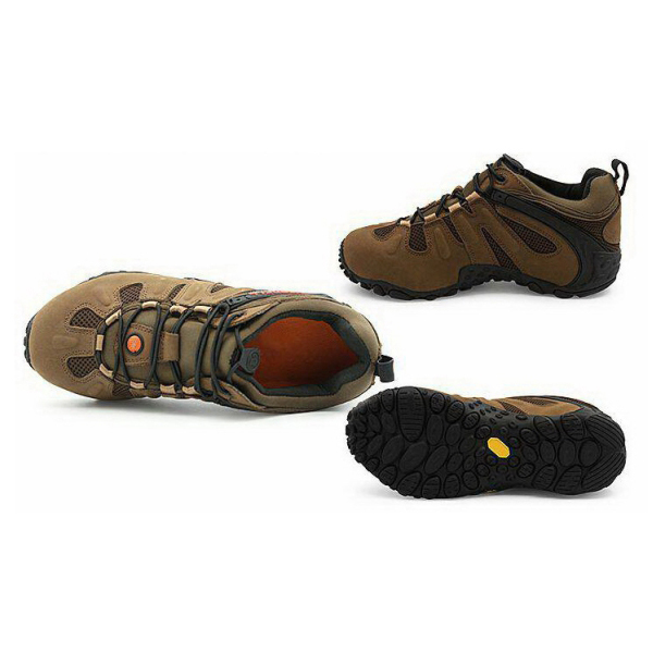 รองเท้าเดินป่า Merrell สีน้ำตาล
