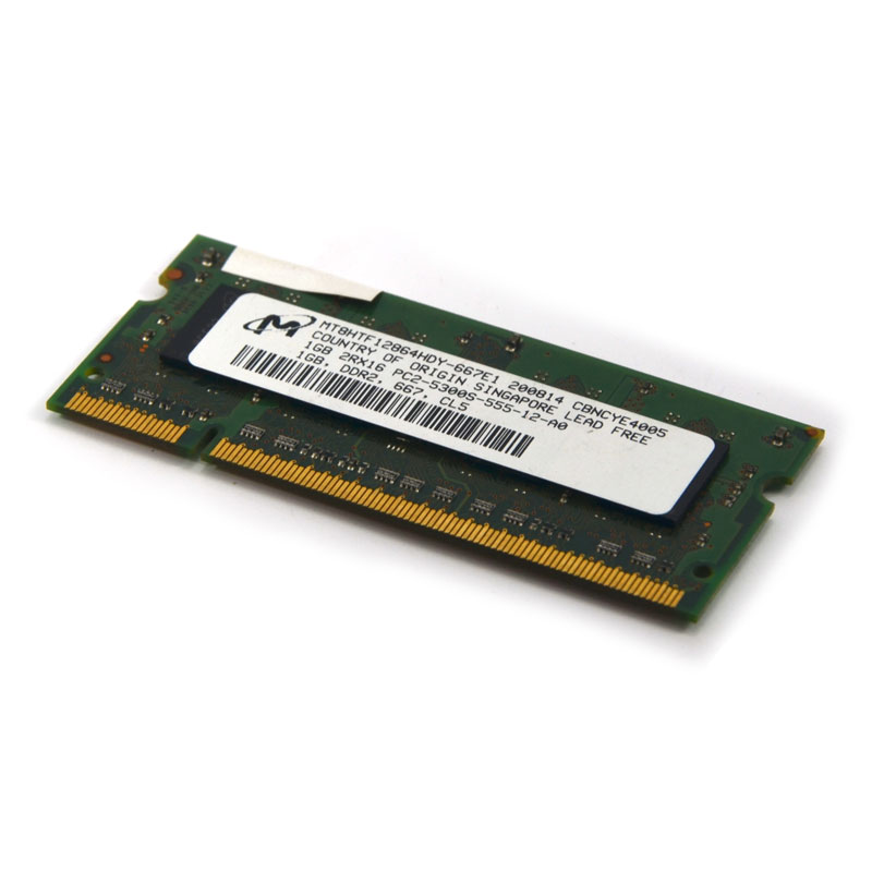แรมโน๊ตบุ๊คมือสอง DDR2 1g