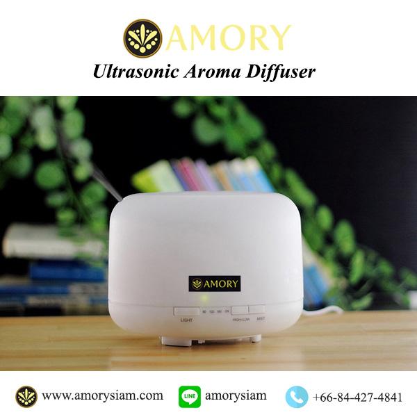 เครื่องพ่นไอน้ำอโรม่า 500 ml. Home/Office Large Ultrasonic Aroma Diffuser