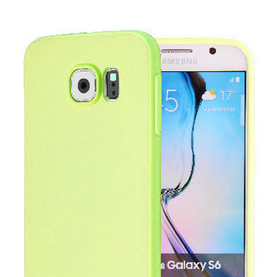 เคสสีสดใส (เคสยาง) - Galaxy S6