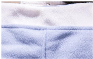รับตัวแทนจำหน่ายเสื้อกันหนาวแฟชั่นเกาหลีสีฟ้ามีหมวกคลุม