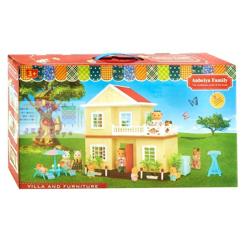บ้านตุ๊กตาหมี 2 ชั้น (รุ่นนี้ไม่มีตุ๊กตานะจ้ะ).