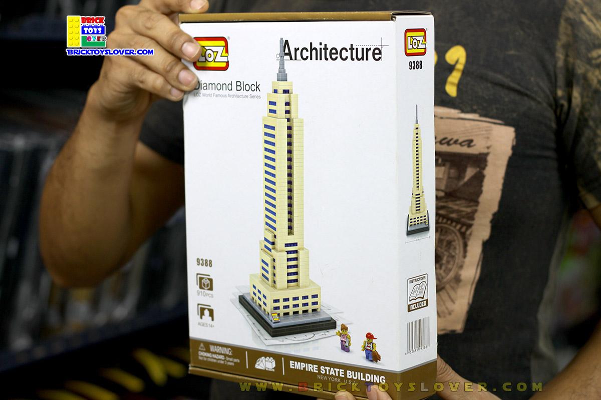 9388 ตัวต่อจิ๋ว Empire State Building ตึกเอ็มไพร์สเตต พร้อม Mini Figures 2 ตัว