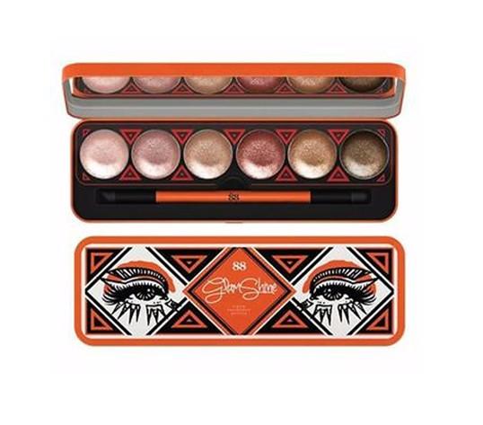 Ver.88 Glam Shine Cream Eyeshadow Palette [ราคาส่งตั้งแต่ชิ้นแรก]