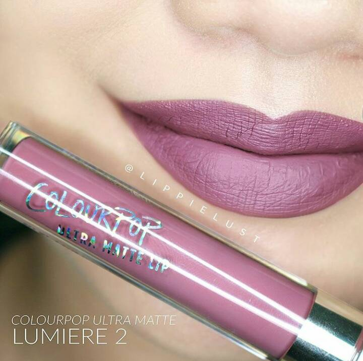 colourpop ultra matte lip สี lumiere 2