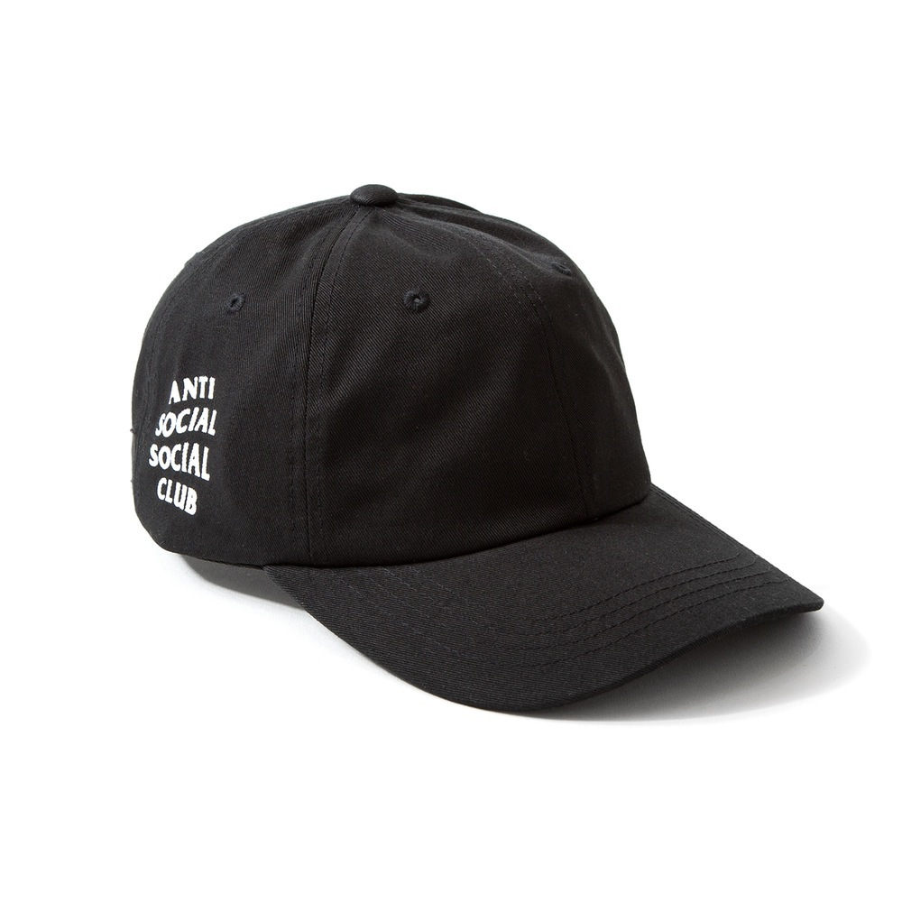 Anti Social Club X Weird Cap Black